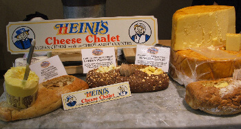 Heini's cheese found in Berlin and Sugar Creek