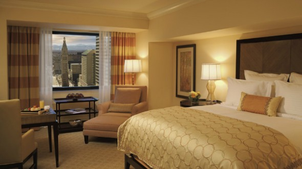 Spacious rooms at the Ritz-Carlton Denver