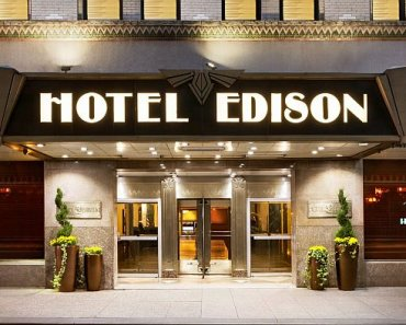 Art Deco Hotel Edison NYC