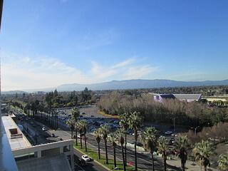 Hilton Hotel view