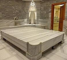 The private hamam in Grand Hyatt Istanbul