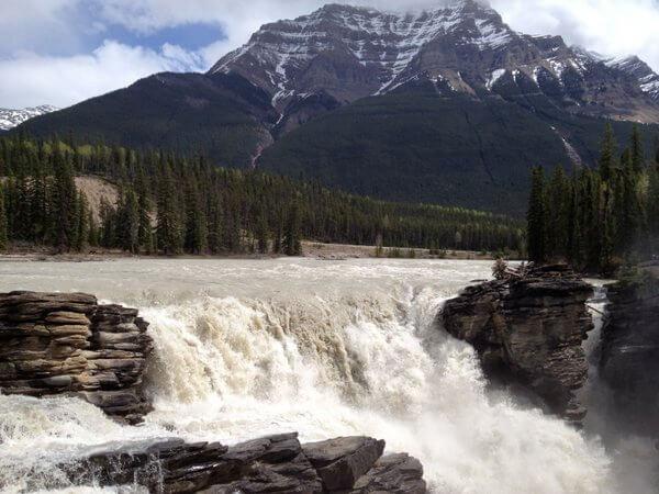 Athabasca Falls, Jasper National Park, Jasper, Alberta, Canada