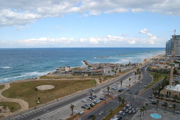 View of the Mediterranean from your Dan Panorama Tel Aviv Hotel