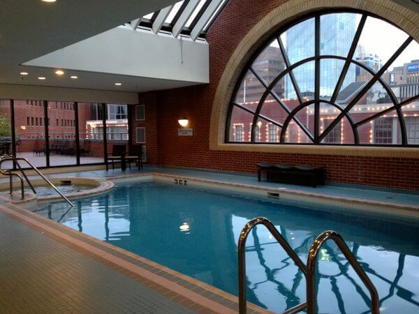 Swimming pool, Prince George Hotel, Halifax, Nova Scotia, Canada