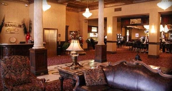 Franklin Hotel Lobby