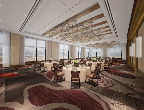 The Pinnacle meeting space is on the 38th floor of adjacent building, boasting one of the best views in Downtown Denver.