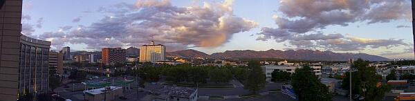 Red Lion Salt Lake City view