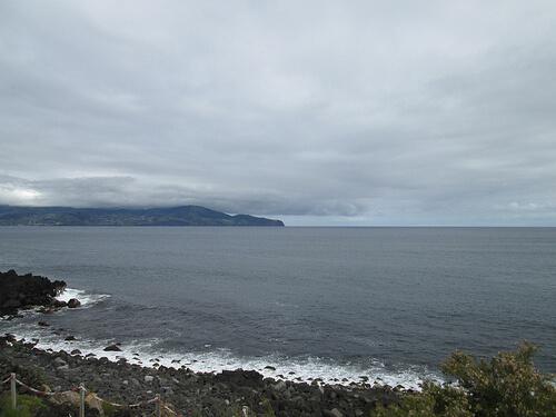 atlantic ocean view, Baía da Barca