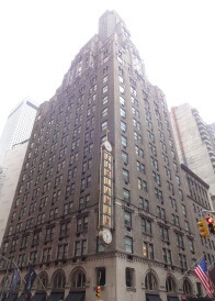 The Benjamin Hotel on Lexington and 50th