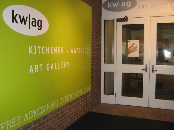 Kitchener-Waterloo Art Gallery, Kitchener, Ontario, Canada