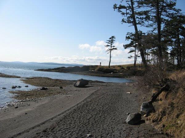 Beach, Pender Island, British Columbia, Canada