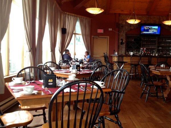 Dining room, Rodd Miramichi River Hotel, Miramichi, New Brunswick