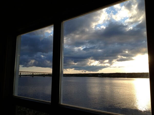 River view, Rodd Miramichi River Hotel, Miramichi, New Brunswick