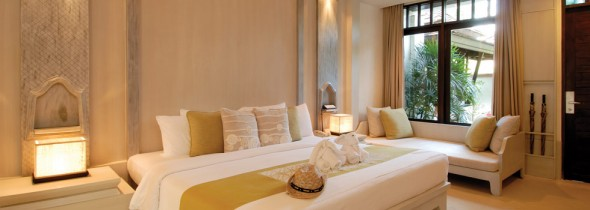 Grand Deluxe room at Melati Beach resort
