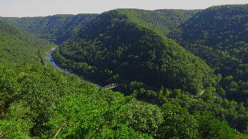 View of the New River Gorge National River