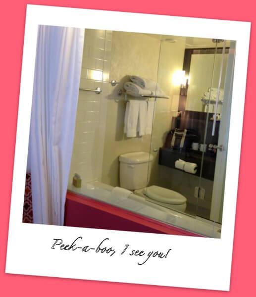 Bathroom, Opus Hotel, Vancouver, BC