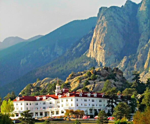 The historic Stanely Hotel, Estes Park