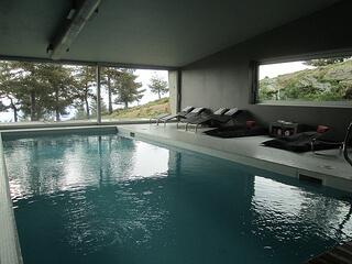 Casa das Penhas Douradas pool