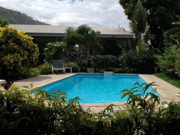 Pension de la Plage, Tahiti, French Polynesia