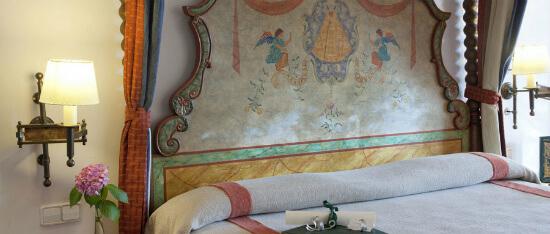 Parador de Guadalupe guest room