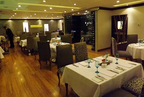 Quito hotel restaurant
