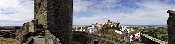 Alentejo Monsaraz castle town