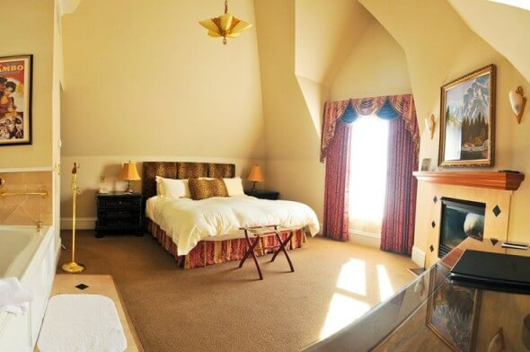 Clark Gable Suite at the Cliff House at Pikes Peak