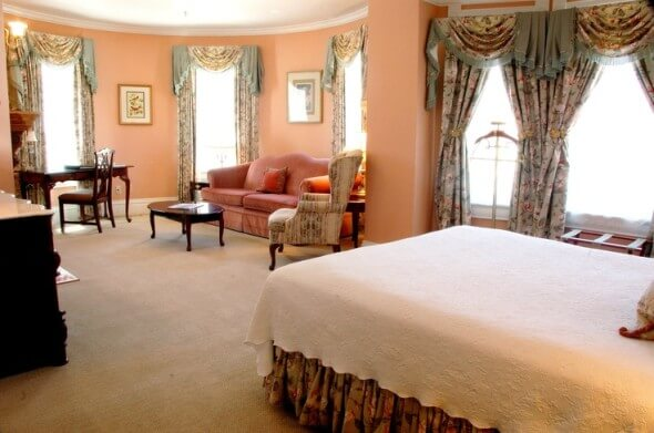 Jenny Lind Suite at the Cliff House at Pikes Peak