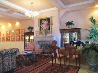 Napa River Inn, hotel lobby