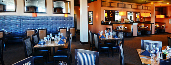 Golden Hotel offers On-site dining at Bridgewater Grill.