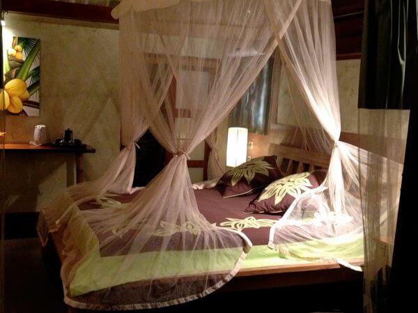 Bedroom, Green Lodge, Moorea, French Polynesia