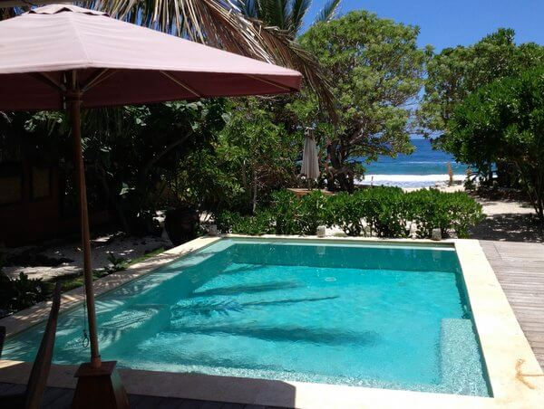 Pool, Green Lodge, Moorea, French Polynesia