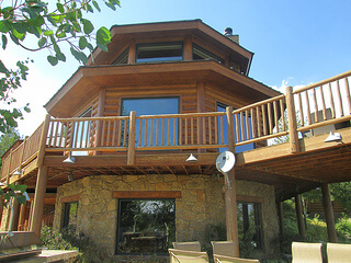 Jackson Fork Ranch, lodge