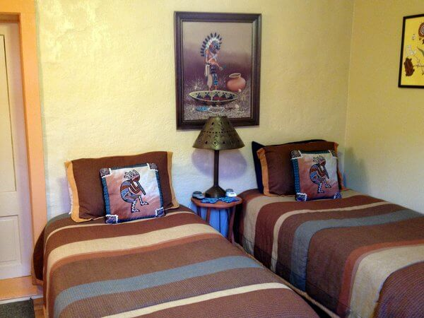Guest room, Dos Cabezas Spirit and Nature Retreat, Willcox, Arizona