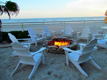 View of the beach at Shores Resort and Spa. (photo by Diana Rowe)