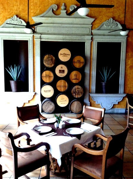 Villa Tequila boutique hotel Restaurant