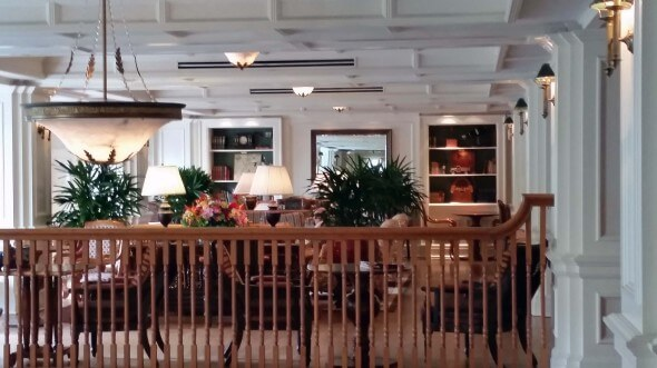 The Bellevue Lounge, a cozy place to gather at the BoardWalk Inn
