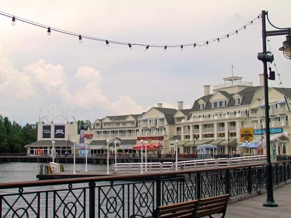 The focal point of the BoardWalk Inn is the quarter-mile, wooden promenade edging Crescent Lake
