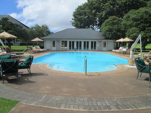 """Lodge at Koele"" swimming pool"