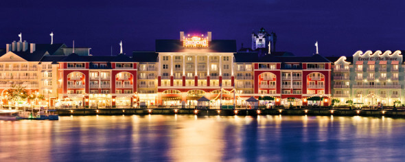 BoardWalk Inn at Night
