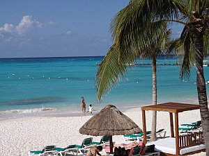 Cancun beach north