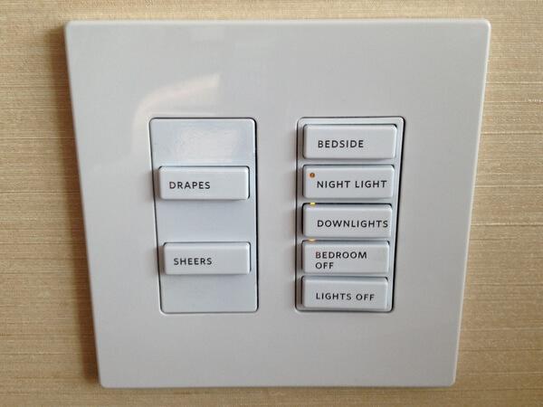 Shangri-La Hotel Toronto room controls