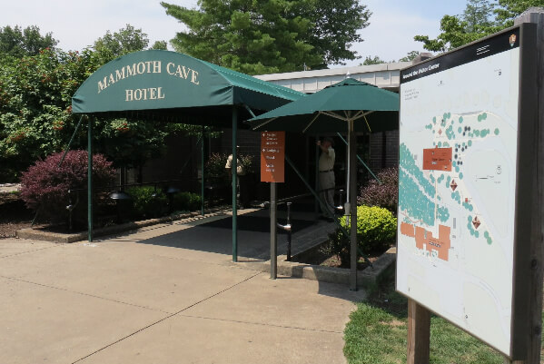 Mammoth Cave Hotel in Kentucky is above one of the wonders of the world.