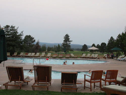 """Sunriver Resort"" pool"