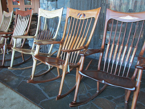 "rocking chair, ""Skamania Lodge"""