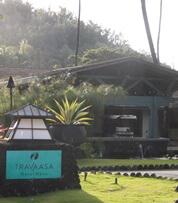 Entrance to Travaasa Hana in Maui