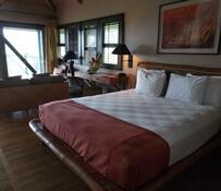 Inside cottage 508 at Travaasa Hana in Maui