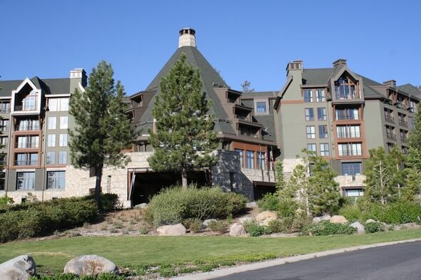 Front entrance The Ritz-Carlton, Lake Tahoe