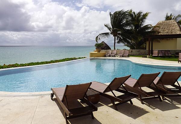 Fairmont Mexico pool