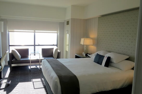Room at the Manchester Grand Hyatt